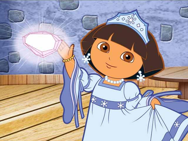 Dora saves the snow princess gamehouse - Princesse dora ...