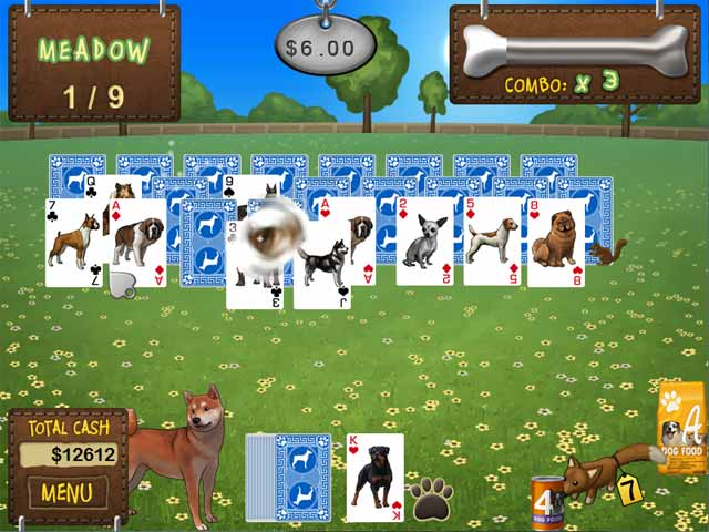 Play Best in Show Solitaire