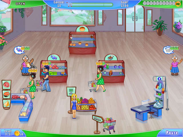 Play Supermarket Management 2