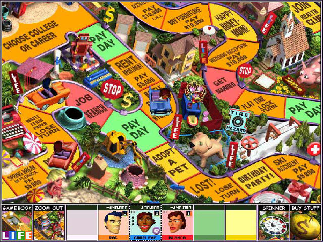 free online game of life board game no download