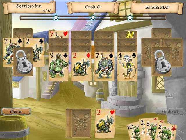 The legends of solitaire the lost cards gamehouse for Classic house genre