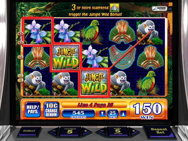 Jungle Wild II Slot Machine – Play Free WMS Slots Online