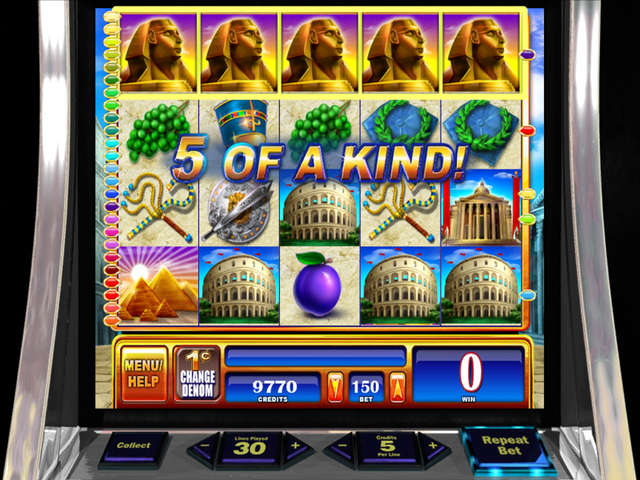 rome and egypt slot online