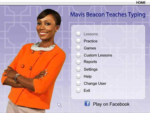 Play Mavis Beacon Teaches Typing 25th Edition