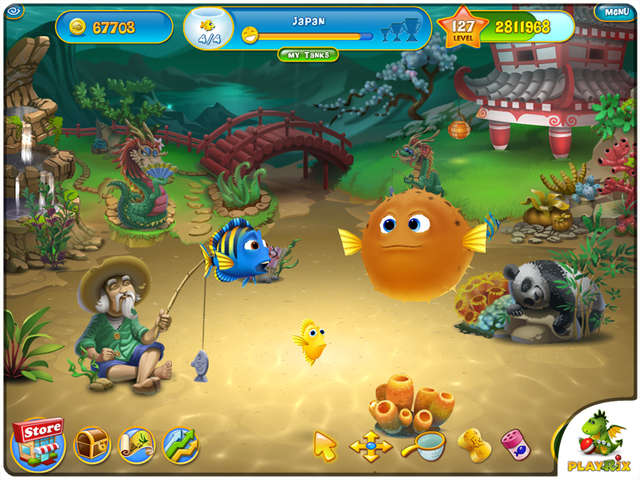 online games fishdom game