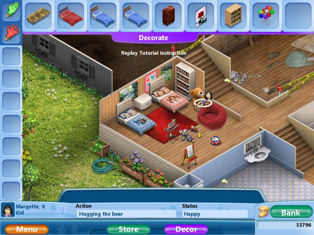 Virtual families 2 our dream house gamehouse Create a house online game