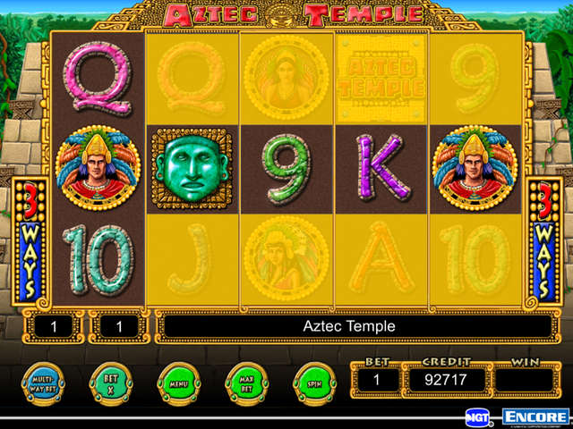 Aztec Temple Slot - Play for Free Online with No Downloads