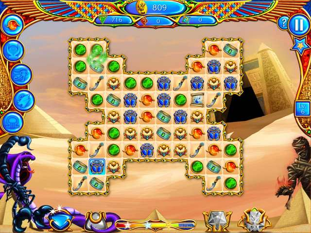 Play The Legend of Egypt - Jewels of the Gods