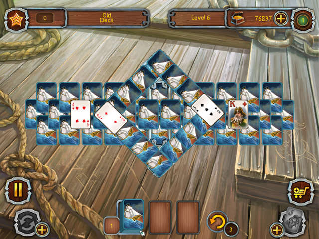 Play Pirate's Solitaire
