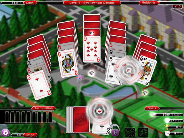 Play Crime Solitaire 2 - The Smoking Gun