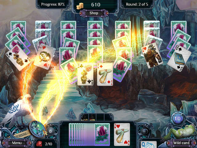 Play The Far Kingdoms Winter Solitaire