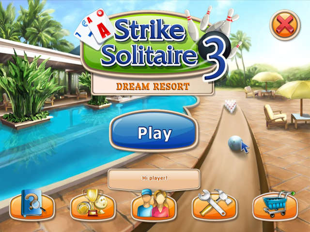 Play Strike Solitaire 3 - Dream Resort