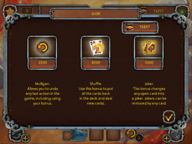 Play Pirate's Solitaire 2