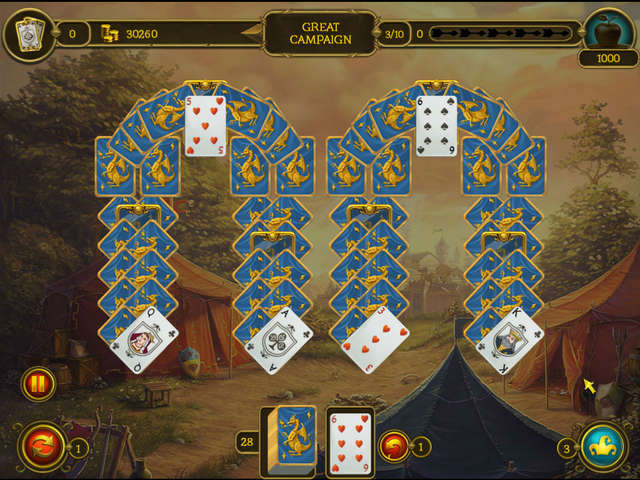 Play Knight Solitaire 2