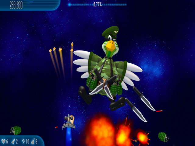 Play Chicken Invaders 5