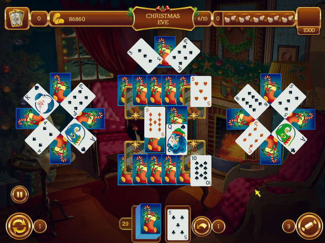 Play Solitaire Game Christmas