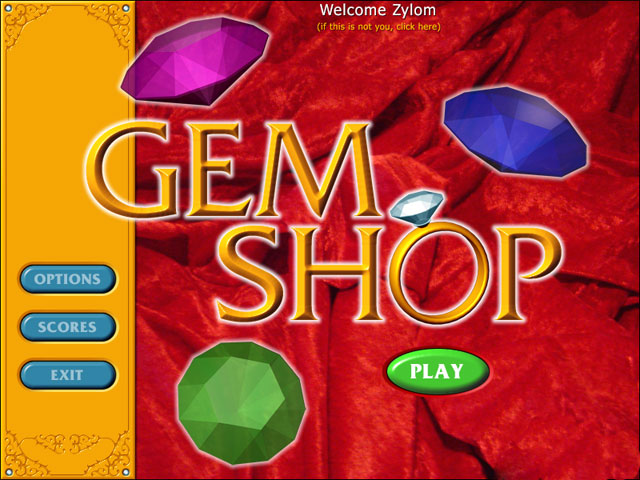 Play Gem Shop