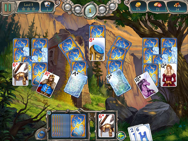Play Avalon Legends Solitaire 2