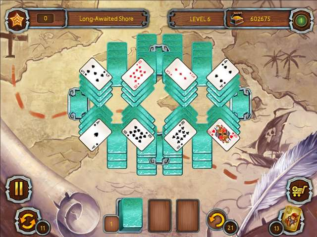 Play Pirate's Solitaire 3