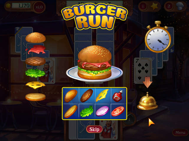 Play Chef Solitaire - USA