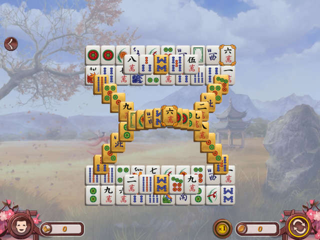 Play Sakura Day Mahjong