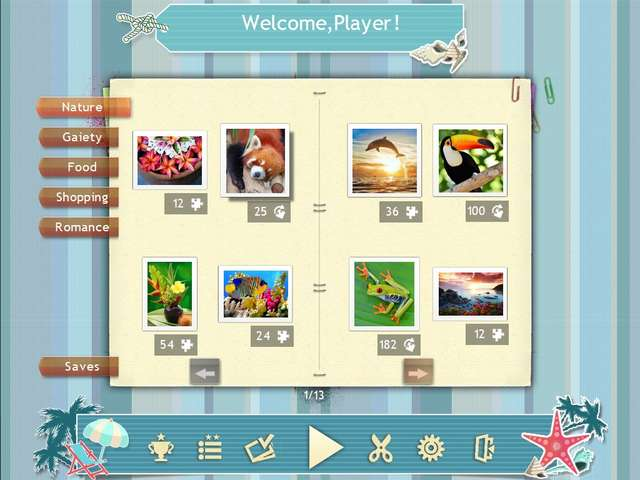 Play Jigsaw Puzzle Beach Season