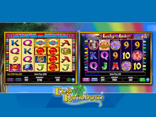 Play IGT Slots End of the Rainbow Collection