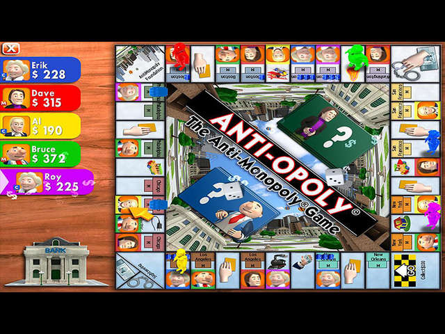 Play Anti-Opoly - The Anti-Monopoly Game