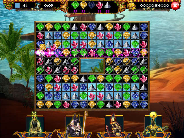 Play Treasures of Egypt