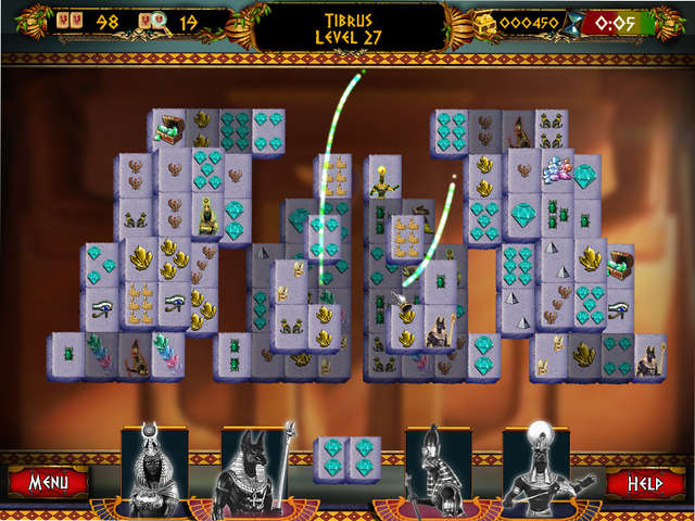Play Mahjong - Ancient Pyramids