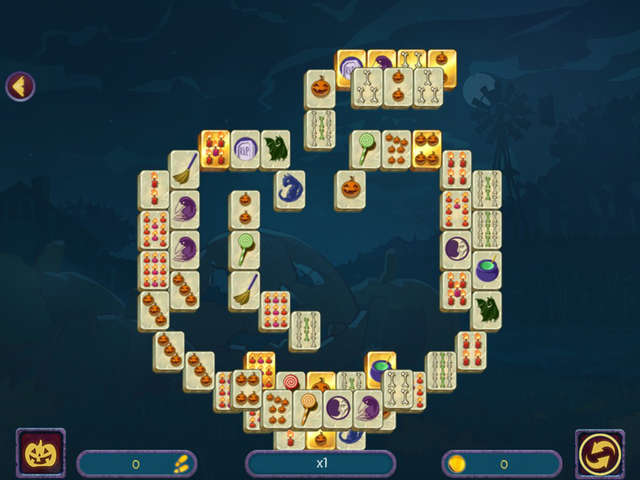 Play Halloween Night Mahjong