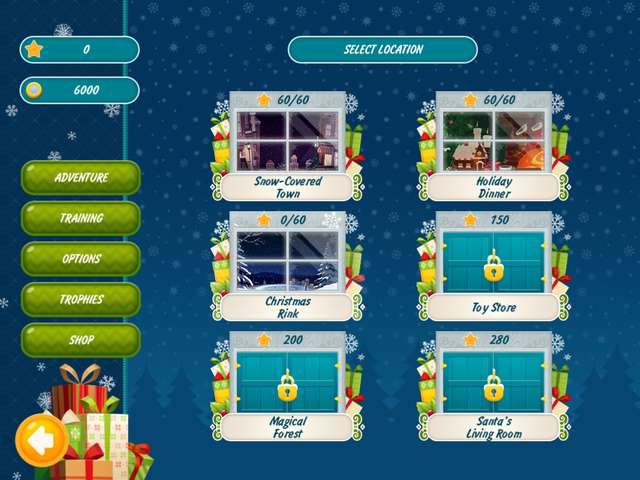 Play Christmas Griddlers - Journey to Santa