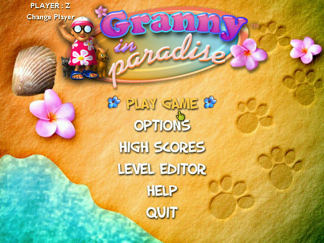 Play Granny in Paradise