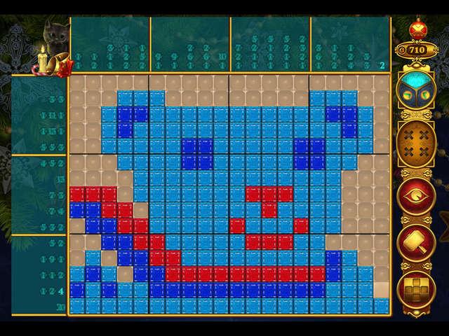 Rainbow Mosaics - Christmas Lights   GameHouse