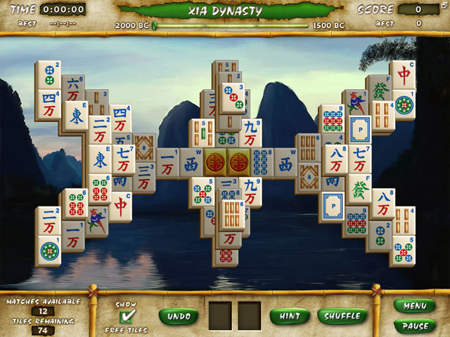 Play Mahjong Escape - Ancient China