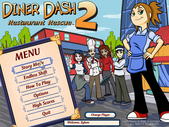 Play Diner Dash 2 - Restaurant Rescue