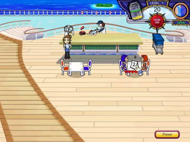Play Diner Dash 3 - Flo on the Go