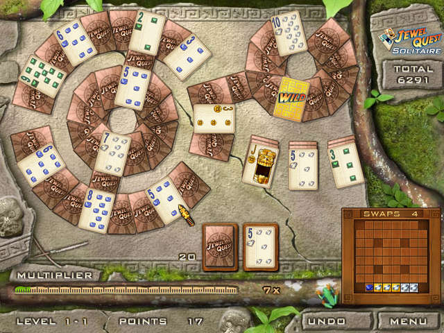 Play Jewel Quest Solitaire