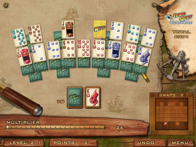Jewel Quest Solitaire Online Free Game  GameHouse