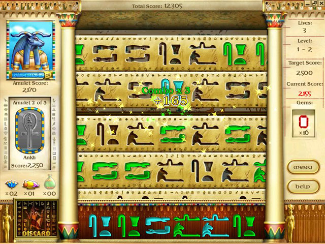 Play Mysteries of Horus