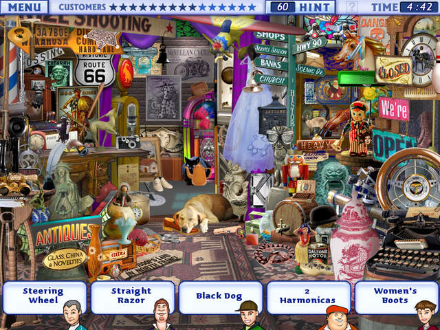 little shop hidden object games