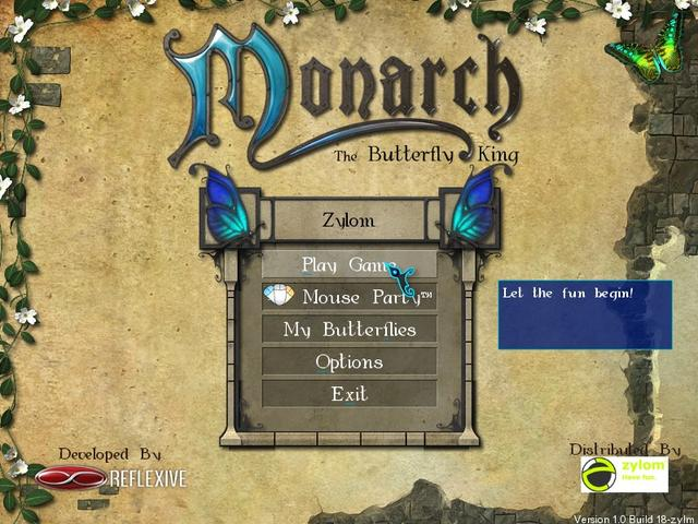 Play Monarch - The Butterfly King