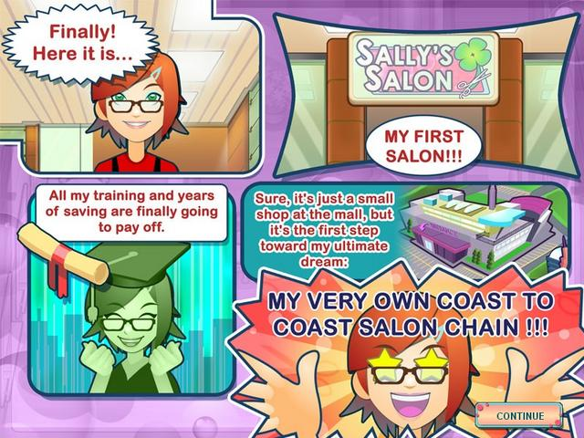 Play Sally's Salon