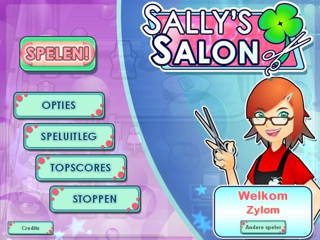 لعبة sally's salon للكمبيوتر