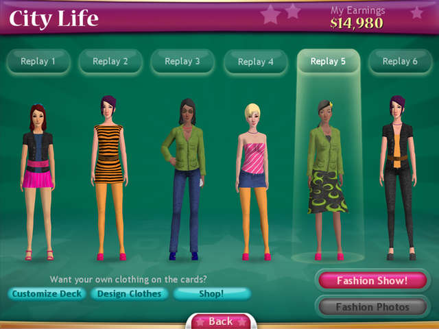 Play Fashion Solitaire