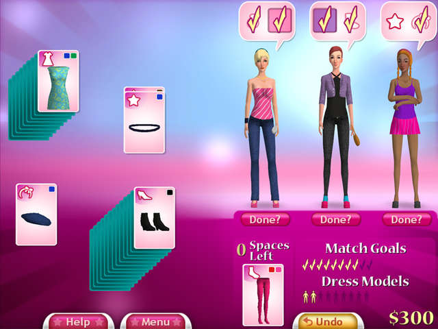Fashion Solitaire - Free Online Fashion