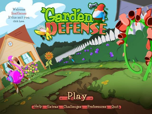 Garden Defense™ - Play Games on Shockwave