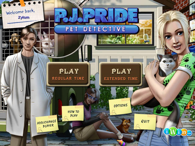 Play PJ Pride Pet Detective