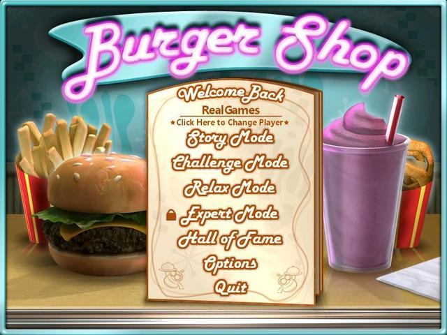 Play Burger Shop