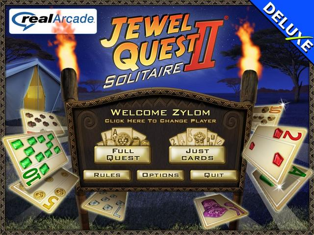 Play Jewel Quest Solitaire II